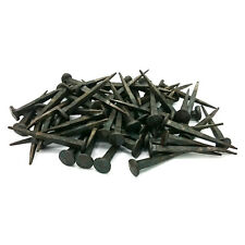 HAND Forged Iron NAILS 65mm x 80 PEZZI Rose CHIODI TESTA CHIODI FERRO BATTUTO