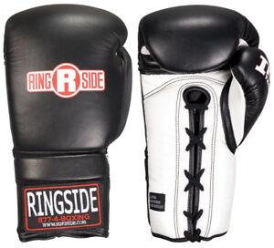 Ringside IMF Tech Sparring Boxing Gloves Black//Red