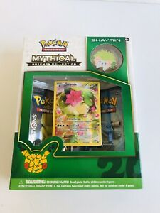 Mythical SHAYMIN,VICTINI 3 Pokemon Mythical Collection Pin Box Mythical JIRACHI