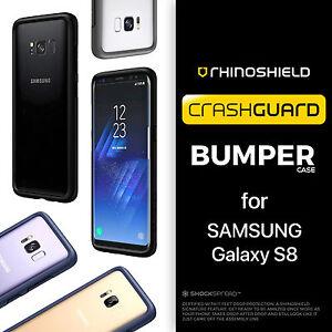 half off d40ea 45961 Details about RhinoShield Samsung Galaxy S8 CrashGuard Bumper Case - Rhino  Shield Shock Proof