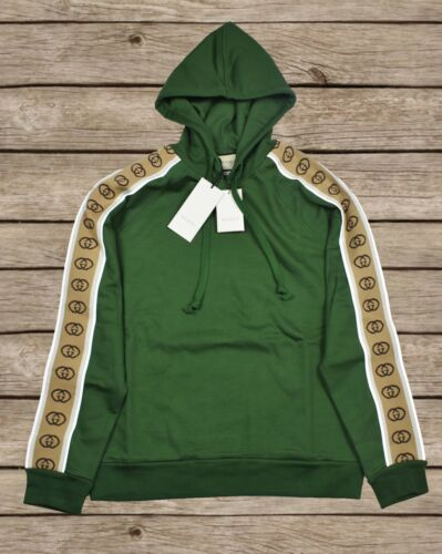 Gucci Hooded Oversized Sweatshirt For Men Size S