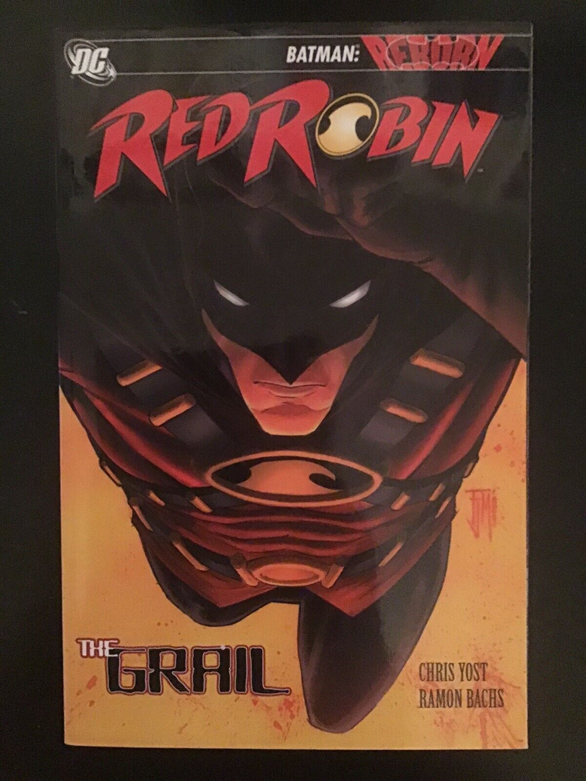 Red Robin Vol 1 The Grail By Christopher Yost
