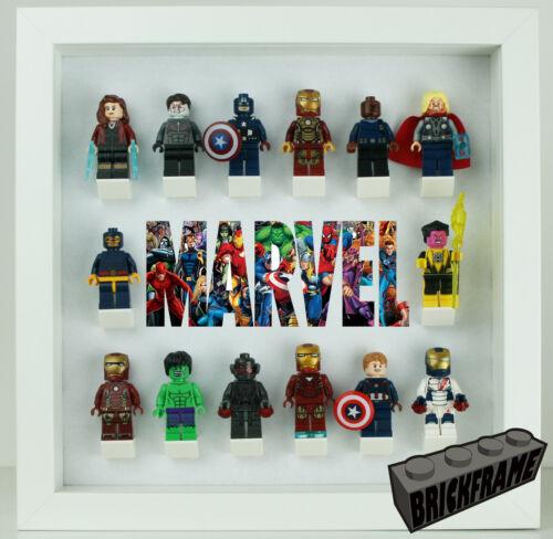 Display Frame Case for LEGO Marvel Minifigures