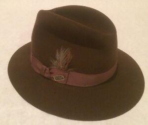 Vintage-Dobbs-Fedora-Fifth-Avenue-Mink-Cole-Brown-Hat-Size-7