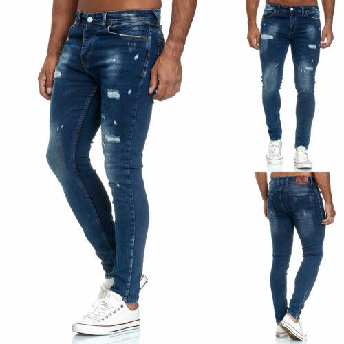 Tazzio Jeansskinny fitHommes PantalonsStretchCREATEUR Pantalon Denim