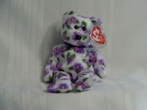 Ty Nara the Bear Beanie - Asia Pacific Exclusive - Mint w/Mint Tags - PE Pellets