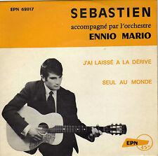 SEBASTIEN SEUL AU MONDE FRENCH 45 SINGLE ENNIO MARIO