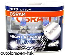 HB3 OSRAM Night Breaker UNLIMITED - Power DUO-Box +110% - 2 St. ++ NEU++