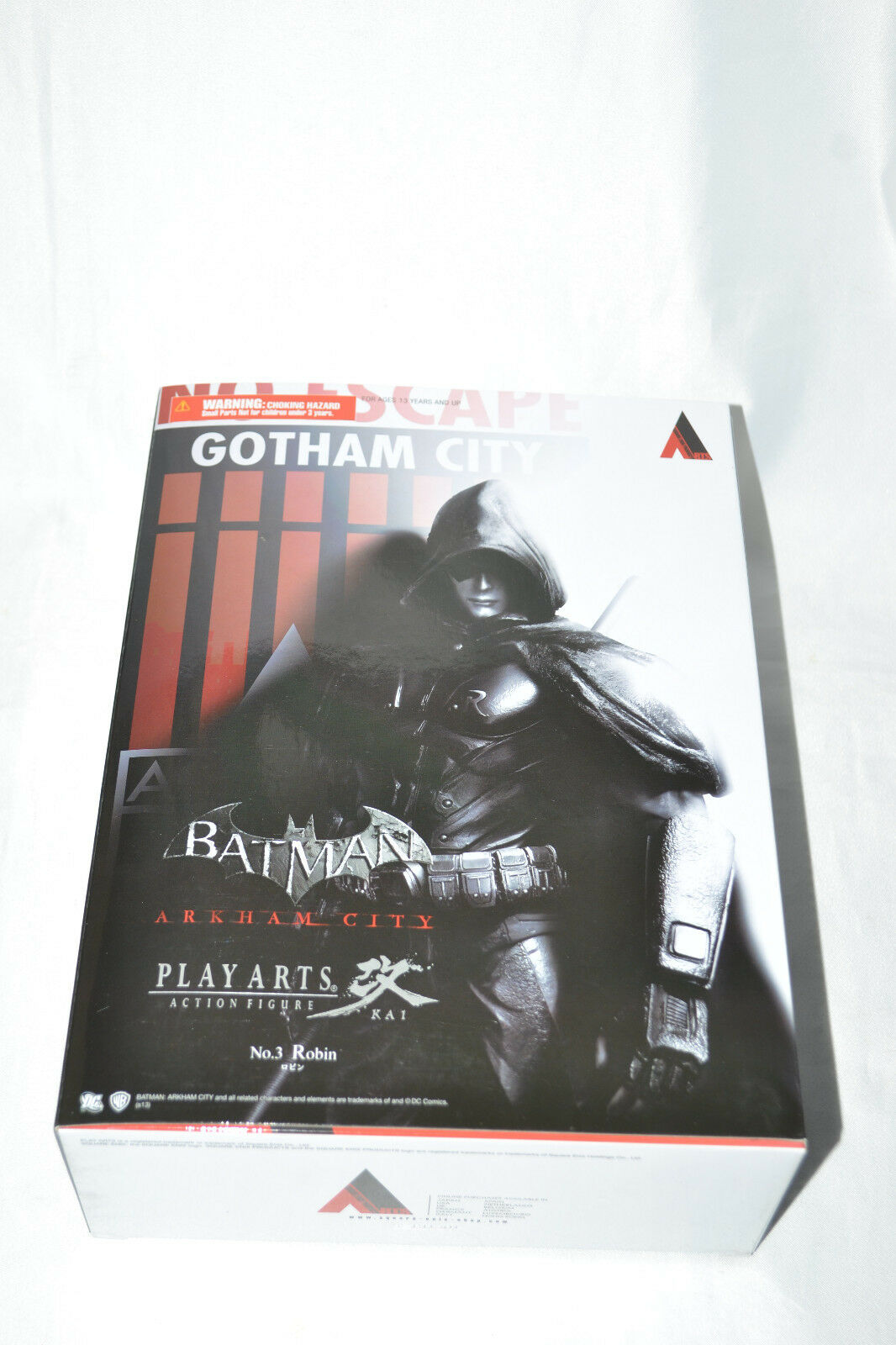 Square Square Square Enix DC Play Arts Kai Batman Arkham City N°3 Robin New be951a
