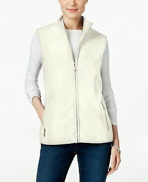 Karen Scott Petite Fleece Vest Size PXL NWT $39 Fashi1 4q2427