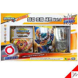 Takara-Tomy-Beyblade-Burst-Cho-Z-STAMINA-Best-Customize-Set-vol-2-amp-Limited-Chip