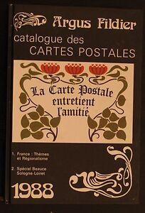 ARGUS-FILDIER-1988-Catalogue-des-Cartes-Postales-Beauce-Sologne-Loiret