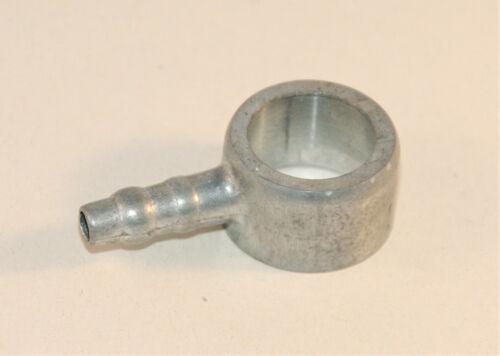 14//345 banjo fuel input for AMAL 276 289 carb floatbowls benzinanschluß 6mm