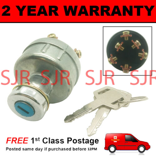 WIRING INSTRUCTIONS IGNITION STARTER SWITCH FOR MITSUBISHI DIGGER EXCAVATOR