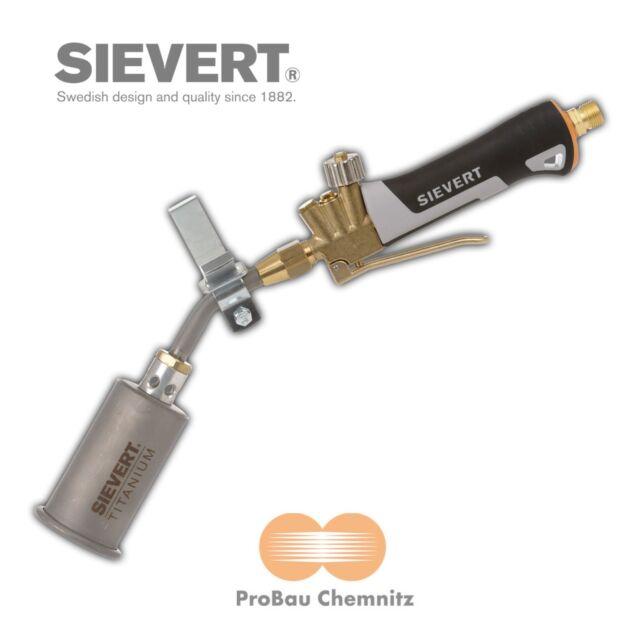 Dachbrenner Sievert PRO 88 Titanium Kantenbrenner 50//420 Brenner Dach Propan