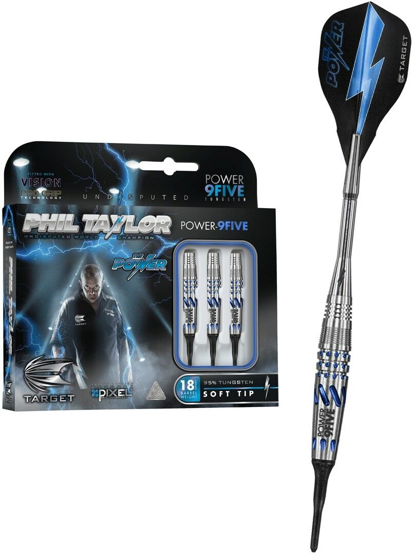 TARGET Soft Dart Pfeile Darts Phil Taylor Taylor Taylor The Power 9Five Five 20 gr Asia 200130 28e62d