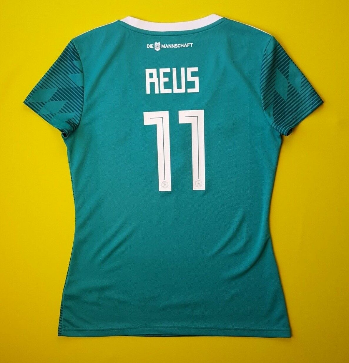5+ 5 Reus Germany soccer women jersey MEDIUM DFB 2018 shirt BR3149 Adidas