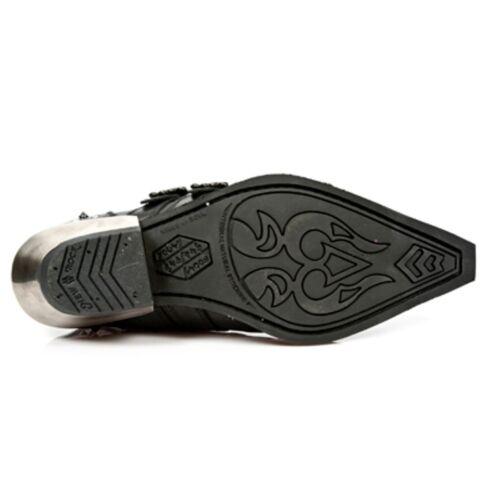 New Rock Boots NEWROCK NR M.7956 S1 Schwarz Stiefel Herren