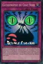 Yu-Gi-Oh !  Catastrophe du Chat Noir (par 3 !!) DRL2-FR037 (DRL2-EN037) VF/SUPER