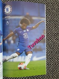 Chelsea-v-Watford-VERY-LIMITED-COLLECTOR-039-S-EDITION-RESTART-Programme-4-7-2020