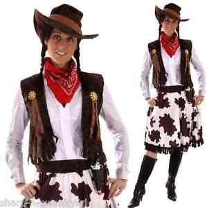 5-Pc-Ladies-Wild-West-Jessie-Cowgirl-Cowboy-Sheriff-Fancy-Dress-Costume-Outfit