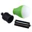 4 X verde exterior lámpara colgante cada uno con 3 LED/'s camping pescar bombilla farol