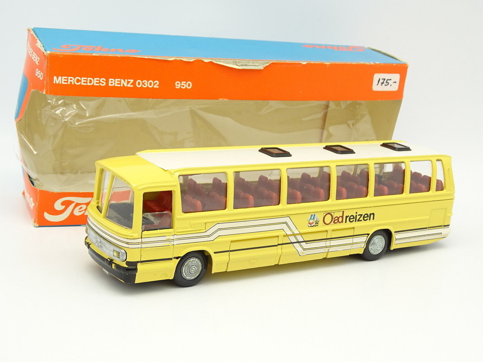 Tekno Holland 1 50 - Car Autocar Mercedes O302 Oad Reizen