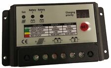 20A dual battery solar panel charge controller/regulator 12v 24V camper boat