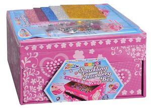 Bambini Decorare il Tuo Gioielli Portagioie Mosaico Frizzante Gemme 15-2879