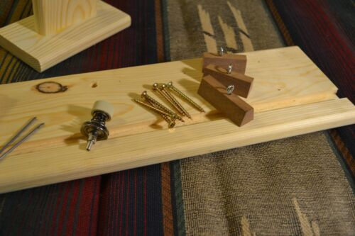 Dovetail Rod Wrapper Kit  pre-drilled and ready to assemble