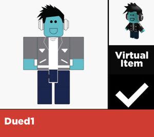 Roblox Dev Code Dued1 Virtual Code Roblox Virtual Game Code Only Shoulder Dev Dued1 Ebay