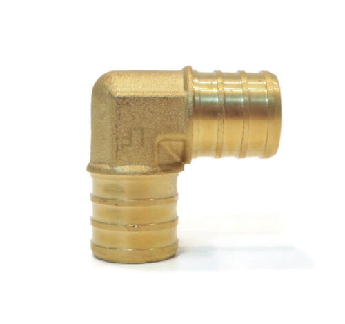 """10 Details about  / New 3//4/"""" x 3//4/"""" PEX 90° BRASS LEAD FREE ELBOWS replace Watts LFWP19B-1212PB"""