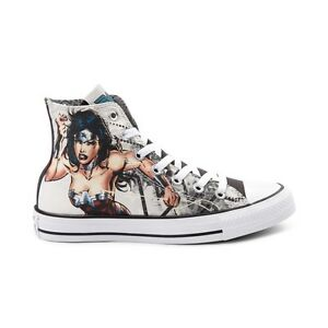 809439ef4bc9 NEW PRINT Converse Chuck Taylor All Star Hi Wonder Woman DC Sneaker ...