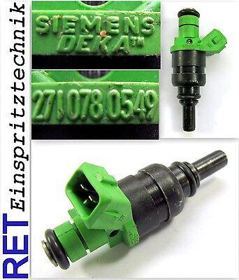 SLK R171 Combustible Inyector 2710780549 Siemens Mercedes SLK 200 1.8