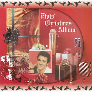 Elvis-Presley-Elvis-039-Christmas-Album-VINYL-12-034-Album-Picture-Disc-2017