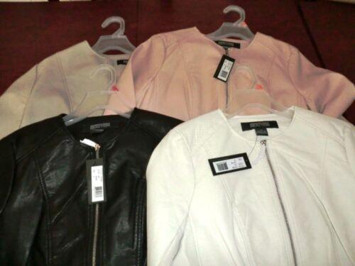 Free Full colore Ship Zip la Cole Scegli dimensione il Faux Womens U Leather e Kenneth Jacket XUTvwxq6Z