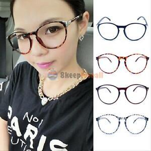 eyeglasses fashion zkgq  Image is loading Fashion-Unisex-Clear-Lens-Round-Frame-Eyeglasses-Men