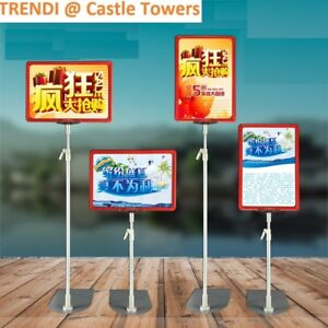 6-price-ticket-holder-A5-sign-stand-4-fish-fruit-grocery-supermarket-retail-shop