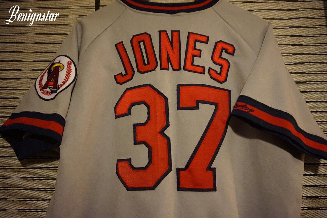 California Angels Fan Jersey Jersey Fan Jones 1989 - 1992 Road Baseball Jersey 97c3d2