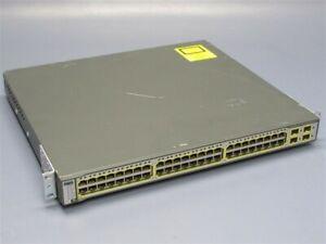 Cisco-Catalyst-3750G-PoE-48-Gigabit-Switch-WS-C3750G-48PS-S