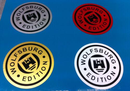 WOLFSBURG EDITION STICKERS/DECALS  100mm X 100mm