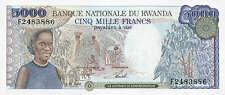 Ruanda / Rwanda 5.000 Francs (1988) Pick 22