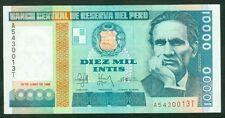 TWN - PERU 140 - 10000 Intis 28/6/1988 UNC