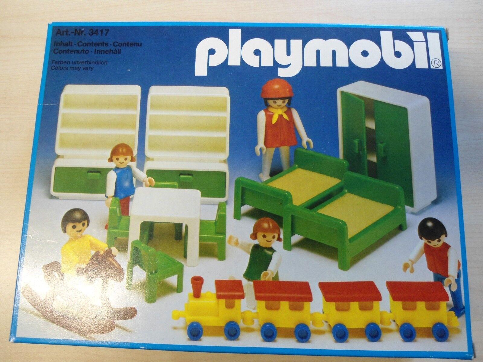 Playmobil  Klicky 3417  Kinderzimmer  NEU