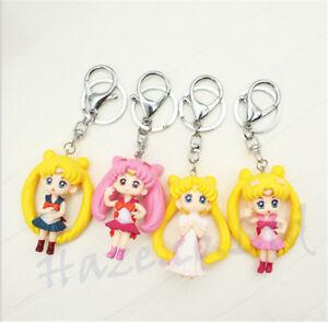 Anime-Sailor-Moon-Character-PVC-Figure-Keychiain-KeyRing-Pendant-Kids-Toys-6cm