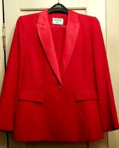 Beautiful Red Tuxedo Suit