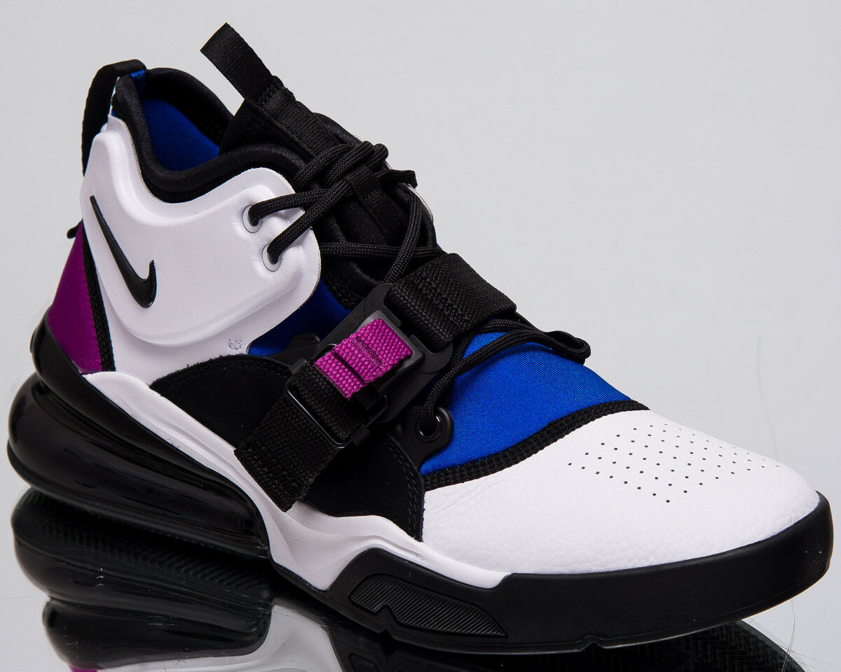best loved cc128 6ae4f Nike Air Air Air Force 270 Men s New White Black Lyon bluee Casual Sneakers  AH6772-