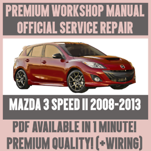 WORKSHOP-MANUAL-SERVICE-amp-REPAIR-GUIDE-for-MAZDA-3-SPEED-II-2008-2013-WIRING