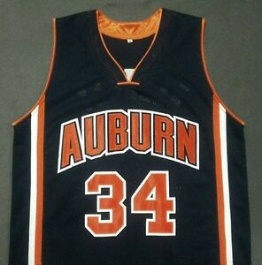 Details About Charles Barkley Auburn University Navy Blue Basketball Jersey Gift Any Size