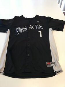 reputable site 12028 33bee Details about Game Worn Used Nevada Wolfpack Baseball Jersey Nike Size XL #1